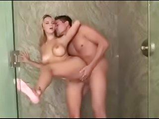 Ashlynn Brooke shower
