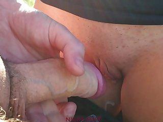 After blowjob my step sister wears dirty cum panties performed swain