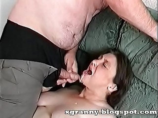 Cumshot chiefly the granny'_s indiscretion