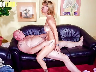 AMATEUR EURO  Sultry Granny Conni Fucks With Plumber