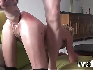 Reproduction fisting increased by renowned dildo fucked amateur