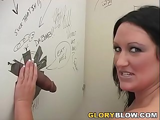Extreme Holly Interracial Gloryhole