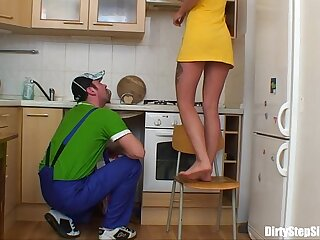 Blonde Russian Teen Gets Will not hear of Pussy Plumbered