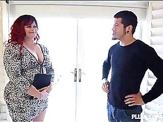 Redhead PAWG Marcy Diamond Fucks Young Stud