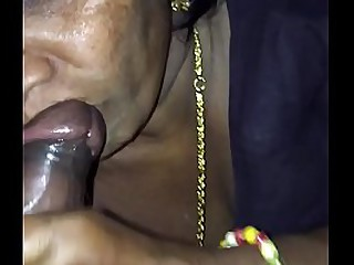 Indian old woman's making love