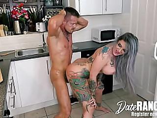 Anal UK Pornstar Punk Gabbling Slut Alexxa Vice Hookup with German Douchebag Bodo - DATERANGER.com